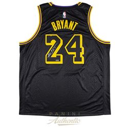 Kobe Bryant Signed Lakers Nike City Edition Jersey (Panini COA)