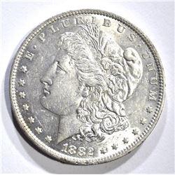 1882-O MORGAN DOLLAR, GEM BU