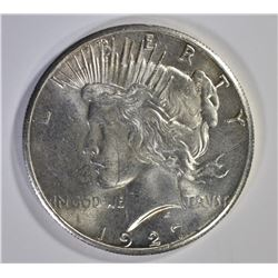 1927 PEACE DOLLAR, CH BU+