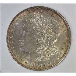 1896-O MORGAN DOLLAR, WHSG BU NICE!
