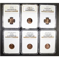 LINCOLN CENT COLLECTOR LOT;