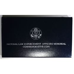 1997-P LAW ENFORCEMENT UNC SILVER