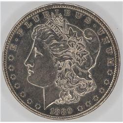 1889-CC MORGAN DOLLAR  CH BU