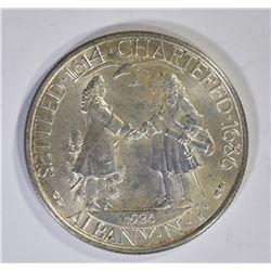 1936 ALBANY COMMEMORATIVE HALF CH BU