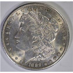 1889-S MORGAN DOLLAR, BU