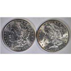 1898-P,O MORGAN DOLLARS CH BU