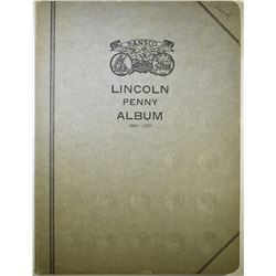 EARLY LINCOLN ALBUM-57 COINS