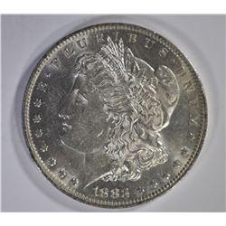 1883-O MORGAN DOLLAR, CH BU SEMI PL