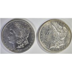 2-1879 AU BETTER DATE  MORGAN DOLLARS
