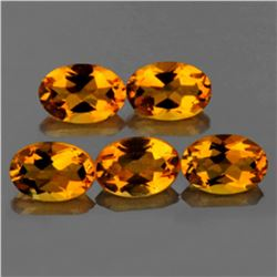 Natural Golden Yellow Citrine 5.40 Cts