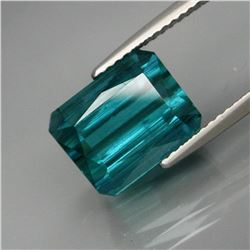 Natural Teal Tourmaline 5.78 Ct - Untreated