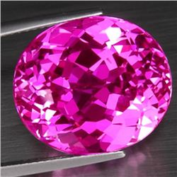 Natural hot Pink Topaz 33.41 carats - VVS