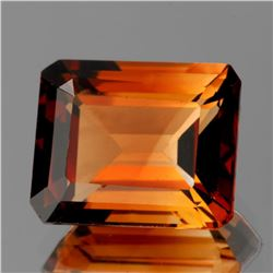 Natural Champagne Imperial Topaz 11x9 MM