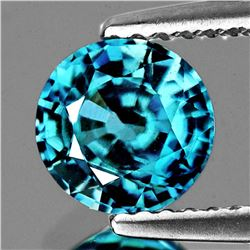 Natural AAA Blue Zircon 3.57 Ct {VVS}