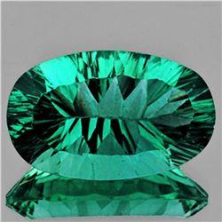 Natural AAA Emerald Green Blue Fluorite 25.41 Ct - FL