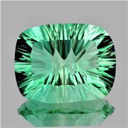 Natural ConCave Cut AAA Paraiba Green Blue Fluorite