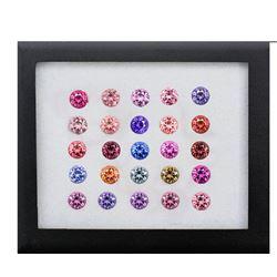Natural Multi Color Burma Spinel 2.30 MM - FL