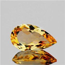 NATURAL GOLDEN ORANGE CITRINE 14x8 MM - FL