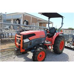 2011 KUBOTA L4740D FARM TRACTOR --VIN/SN:70677 ::MFWD, CANOPY, 14.9-24 REAR TIRES, 8.3-16 FRONT TIRE