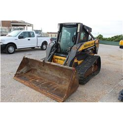 2008 NEW HOLLAND C190 SKID STEER LOADER --VIN/SN:N7M457259 ::CRAWLER, BUCKET, BUSHMASTER ROTARY CUTT