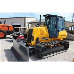 2009 NEW HOLLAND D95B WT CRAWLER TRACTOR --VIN/SN:N9DC95002 ::6 WAY BLADE, DP MANUFACTURING WINCH, C