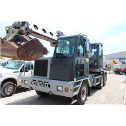2007 GRADALL XL4100II WHEELED EXCAVATOR --VIN/SN:4100000164 ::36'''' BUCKET, 60'''' CLEAN OUT BUCKET