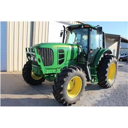 2011 JOHN DEERE 7230 FARM TRACTOR --VIN/SN:691448 ::MFWD, 3 REMOTES, CAB, A/C, 18.4R34 REAR TIRES, 1