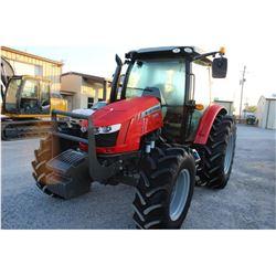 2014 MASSEY FERGUSON 5612 FARM TRACTOR --VIN/SN:E104011 ::MFWD, 3 REMOTES, CAB, A/C, 18.4R34 REAR TI