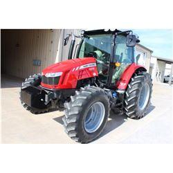 2014 MASSEY FERGUSON 5612 FARM TRACTOR --VIN/SN:D357048 ::MFWD, 3 REMOTES, CAB, A/C, 18.4R34 REAR TI