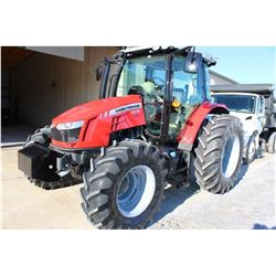 2014 MASSEY FERGUSON 5612 FARM TRACTOR --VIN/SN:D357042 ::MFWD, 3 REMOTES, CAB, A/C, 18.4R34 REAR TI