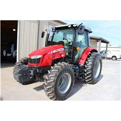 2014 MASSEY FERGUSON 5612 FARM TRACTOR --VIN/SN:D357052 ::MFWD, 3 REMOTES, CAB, A/C, 18.4-34 REAR TI