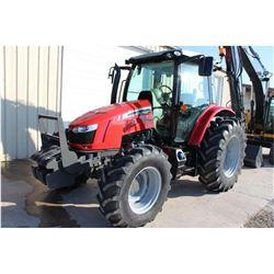 2014 MASSEY FERGUSON 5612 FARM TRACTOR --VIN/SN:E104058 ::MFWD, 3 REMOTES, CAB, A/C, 18.4R34 REAR TI