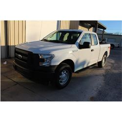 2017 FORD F150 PICKUP TRUCK --VIN/SN:1FTFX1EF1HFB35537 ::4X4, EXT. CAB, V8 GAS, A/T, 43,899 MILES