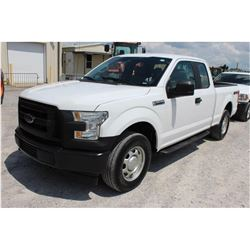2017 FORD F150 PICKUP TRUCK --VIN/SN:1FTFX1EF2HFB35529 ::4X4, EXT. CAB, V8 GAS, A/T, 71,147 MILES