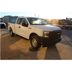 2017 FORD F150 PICKUP TRUCK --VIN/SN:1FTFX1EF2HKC20149 ::4X4, EXT. CAB, V8 GAS, A/T, 78,333 MILES