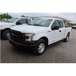 2016 FORD F150 PICKUP TRUCK --VIN/SN:1FTEX1CF7GKE78132 ::EXT. CAB, V8 GAS, A/T, 49,415 MILES