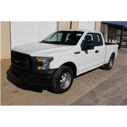 2016 FORD F150 PICKUP TRUCK --VIN/SN:1FTEX1CF8GFB37590 ::EXT. CAB, V8 GAS, A/T, 53,209 MILES