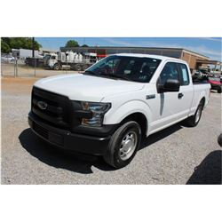 2016 FORD F150 PICKUP TRUCK --VIN/SN:1FTEX1CF6GFB37586 ::EXT. CAB, V8 GAS, A/T, 55,496 MILES