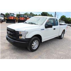 2016 FORD F150 PICKUP TRUCK --VIN/SN:1FTEX1CFXGFB37574 ::EXT. CAB, V8 GAS, A/T, 58,887 MILES