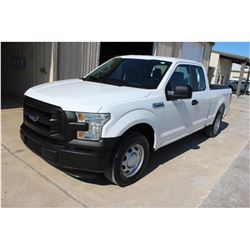 2016 FORD F150 PICKUP TRUCK --VIN/SN:1FTEX1CF2GFB37598 ::EXT. CAB, V8 GAS, A/T, 59,262 MILES