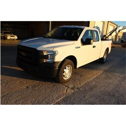 2016 FORD F150 PICKUP TRUCK --VIN/SN:1FTEX1CF1GFB37608 ::EXT. CAB, V8 GAS, A/T, 59,767 MILES