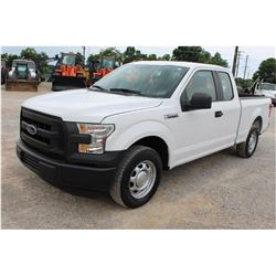2016 FORD F150 PICKUP TRUCK --VIN/SN:1FTEX1CF1GFC61040 ::EXT. CAB, V8 GAS, A/T, 67,505 MILES