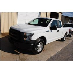 2016 FORD F150 PICKUP TRUCK --VIN/SN:1FTEX1CF1GFB37611 ::EXT. CAB, V8 GAS, A/T, 71,088 MILES