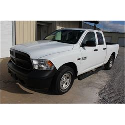 2015 RAM 1500 PICKUP TRUCK --VIN/SN:1C6RR7FT7FS765346 ::4X4, EXT. CAB, V8 GAS, A/T, 57,909 MILES