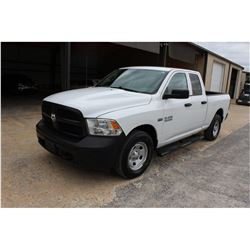 2015 RAM 1500 PICKUP TRUCK --VIN/SN:1C6RR7FT3FS757759 ::4X4, EXT. CAB, V8 GAS, A/T, 63,768 MILES
