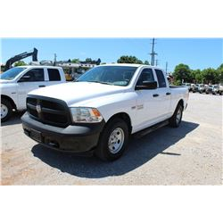 2015 RAM 1500 PICKUP TRUCK --VIN/SN:1C6RR7FTXFS765342 ::4X4, EXT. CAB, V8 GAS, A/T, 74,357 MILES