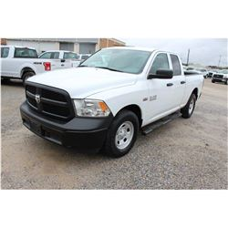 2015 RAM 1500 PICKUP TRUCK --VIN/SN:1C6RR6FT4FS742147 ::EXT. CAB, V8 GAS, A/T, 44,896 MILES