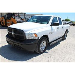 2015 RAM 1500 PICKUP TRUCK --VIN/SN:1C6RR6FT8FS742149 ::EXT. CAB, V8 GAS, A/T, 51,401 MILES