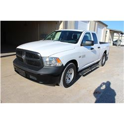 2015 RAM 1500 PICKUP TRUCK --VIN/SN:1C6RR6FT7FS742160 ::EXT. CAB, V8 GAS, A/T, 54,770 MILES