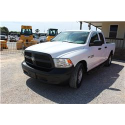 2015 RAM 1500 PICKUP TRUCK --VIN/SN:1C6RR6FT6FS742151 ::EXT. CAB, V8 GAS, A/T, 59,182 MILES